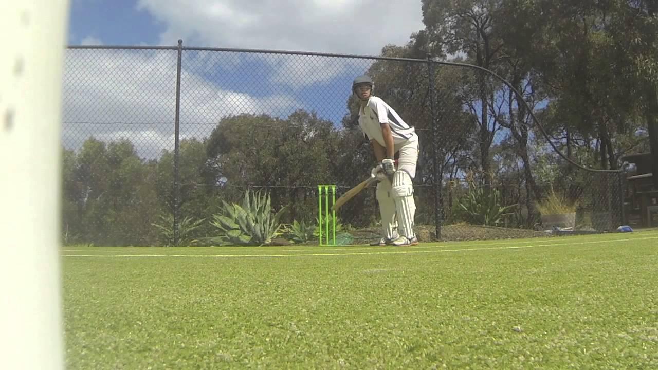Backyard Cricket Net Session 11/06/15   YouTube