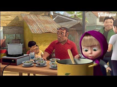 Ada Masha, upin, Minions Cherrybelle di Film Adit Sopo jarwo
