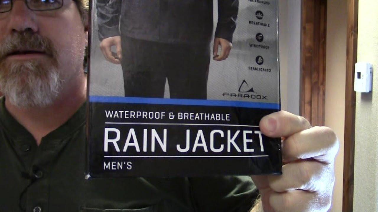Paradox Men S Elite Waterproof Breathable Rain Jacket