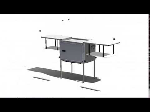 THE TK VAN KITCHEN - Removable Camp Kitchen Stove and Carbon