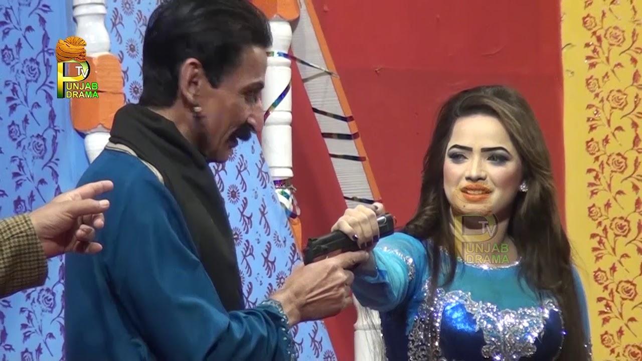 Iftikhar Thakur and Kousar Bhatti Saraiki Stage Drama Full Comedy Clip 2019