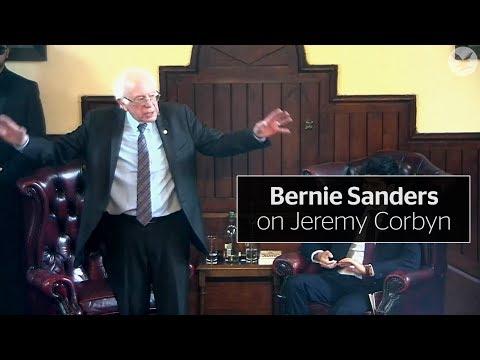 Bernie Sanders praises