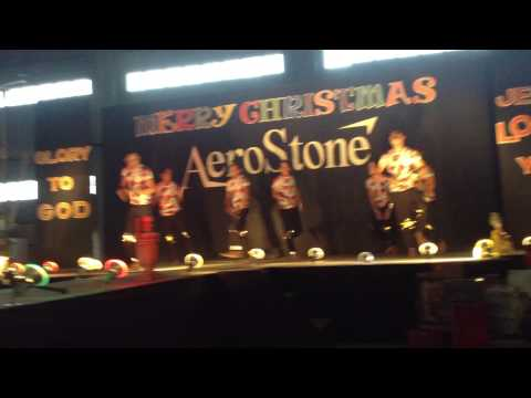 AeroStone Christmas Party (casting department )