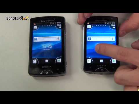 Sony Ericsson Xperia mini e Xperia mini pro - Unboxing