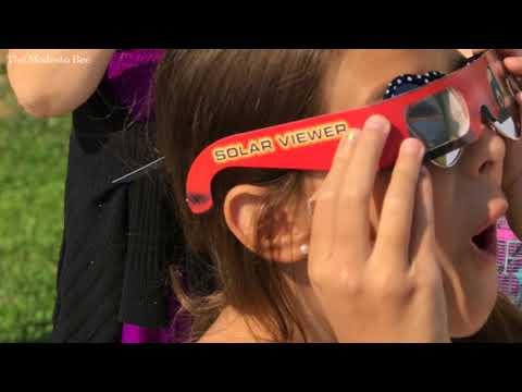 Modesto Students View Solar Eclipse
