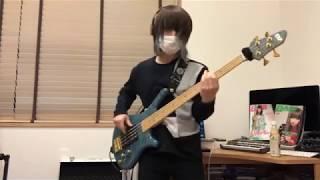 SILENT SIREN GIRLS POWERから 【ODOREmotion】のベース弾いてみました...