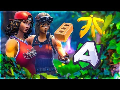 PRO PLAYGROUNDS!! FNATIC ERYC VS ALLIANCE TOMMO - Fortnite
