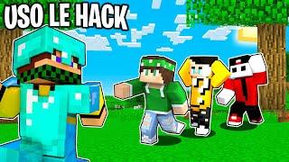 2 SPEEDRUN CON LE HACK vs 2 CACCIATORE - Minecraft ITA