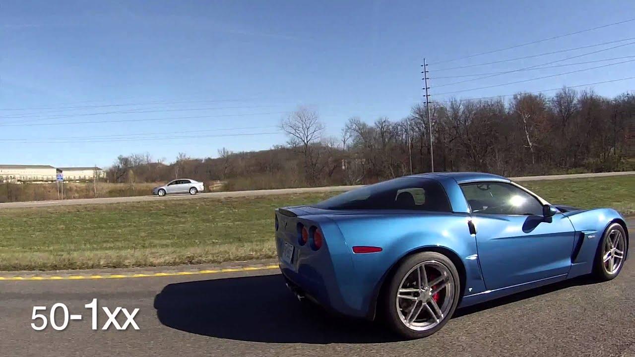 Cammed G8 GT vs Corvette C6Z