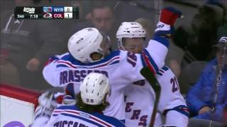 Rangers @ Avalanche Highlights 11/06/15
