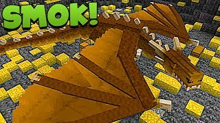 OGROMNY SMOK W PODZIEMNEJ JASKINI - Minecraft: Przygody z Flotharem #16