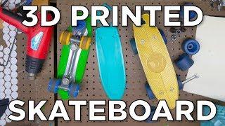 The Half Penny Board // 3D Printed Skateboard