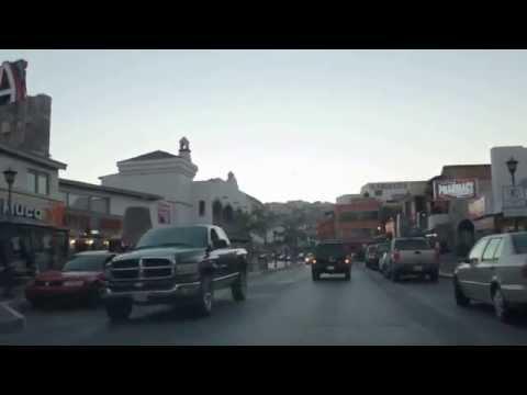 Driving Through Downtown Ensenada