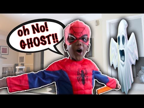 Download Baby Spiderman Beats Up The Ghost