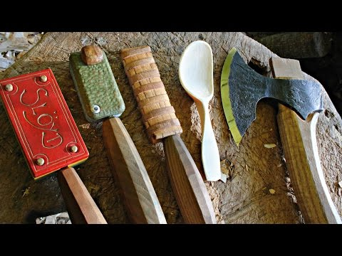 How To Carve A Spoon - Adam Hawker