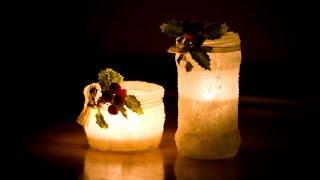 DIY: Подсвечник из банки / Candle Holder