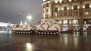 Ночная репетиция Парада победы 2017