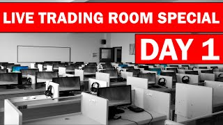Forex Trading Live Room Special Edition (Day 1)