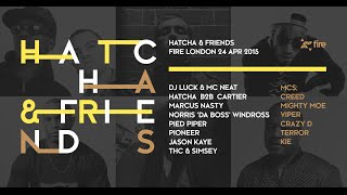 Fire: Live Sessions - Hatcha, Dj Cartier & Crazy D - UKG classics