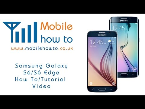 How To Access Text Message Settings - Samsung Galaxy S6/S6 Edge