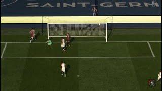 FIFA 18 belle action qui rentre