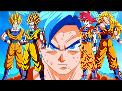 all of gokus forms and transformations fusions doovi
