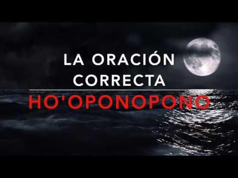 HOOPONOPONO. PETICIÓN SIN EXPECTATIVAS  ORACIÓN CORRECTA