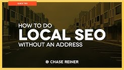How To Do Local SEO Without an Address | Local SEO 2018
