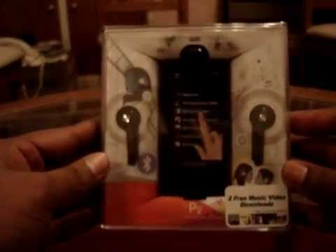 Unboxing my Samsung YP-P2 mp3 player.