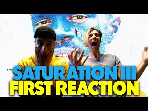BROCKHAMPTON  - SATURATION III REACTION/REVIEW