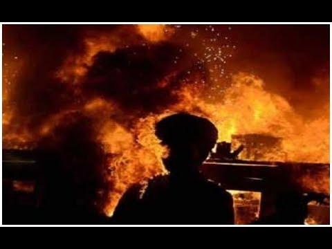Plastic factory catches fire in Gujarat's Junagadh