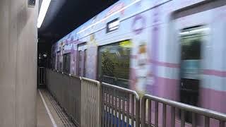 福岡市営地下鉄空港線 2000系 筑前前原 行 中洲川端駅到着 2019.03.23