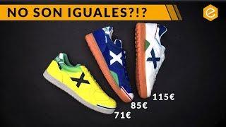 COMPARATIVA MUNICH FÚTBOL SALA - ¿Cuál es la mejor zapatilla de futsal?
