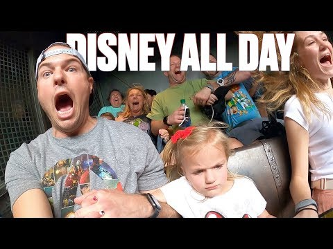 16 STRAIGHT HOURS IN DISNEY WORLD WITH FIVE KIDS | WE SHUT THE PARK DOWN TWICE!