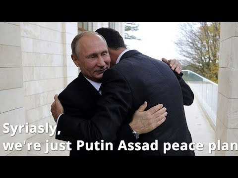 BREAKING: Putin Meets Assad in Sochi, Russia
