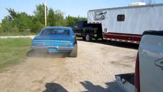 1967 Pontiac Firebird Burnout