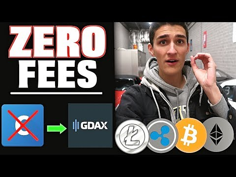 How To Buy Cryptocurrency With ZERO Fees! Don't Buy on Coinbase (GDAX Tutorial)