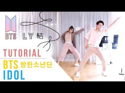 BTS (방탄소년단) - IDOL Tutorial (Mirrored + Explanation) | Ellen and Brian