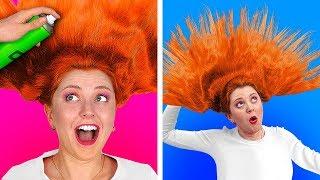 TANTANGAN 100 LAPIS TERBAIK || 100 Lapis Hairspray || 100 Lapis Hal oleh 123 GO! CHALLENGE