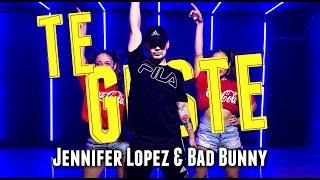 Jennifer Lopez & Bad Bunny - Te Guste | Kevin Herrera Choreography
