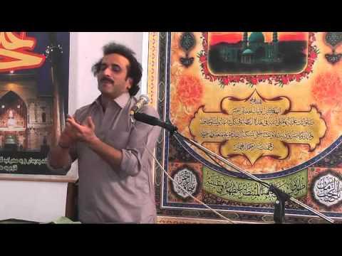 zakir aqeel mohsin naqvi Majlis Aza 8 june 2014 Imam Bargah Qasr ...