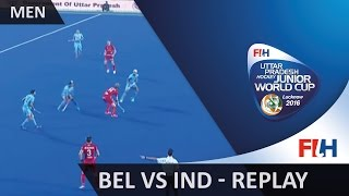 Belgium v India - Men's Hockey Junior World Cup Lucknow 2016
