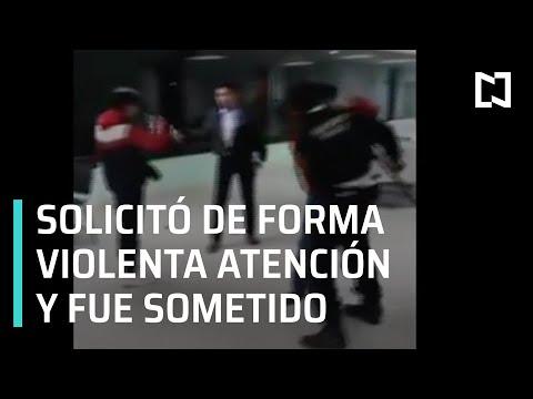 Pelea en hospital regional de Tlaxcala - Las Noticias