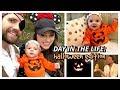 Halloween 2018 Vlog | A Night at Home Carving a Pumpkin