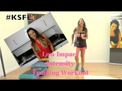 LIIT - Low Intensity Interval Training Workout With Rachel Holmes