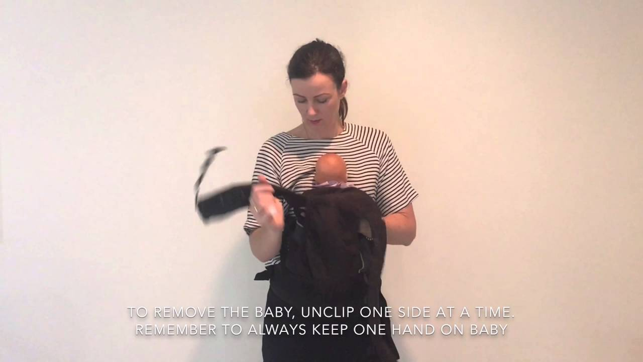 How To Use Manduca Baby Carrier Newborn Infant And Back Carry