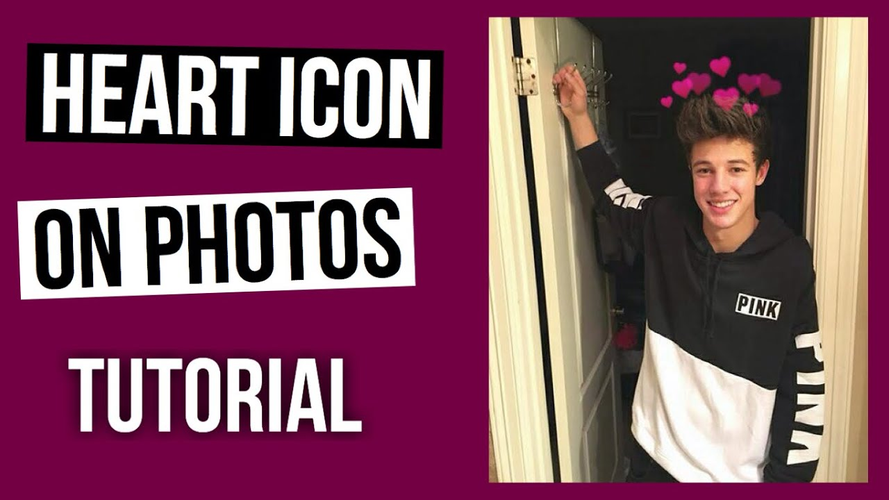 macbook heart effect on photos tutorial youtube