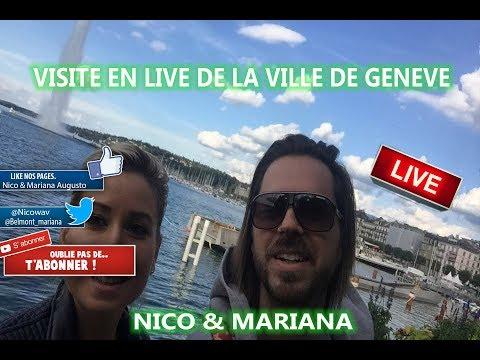 Découverte en Live de la ville de Genève