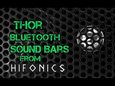 Thor Sound Bars by Hifonics | UTV | Side By Side on