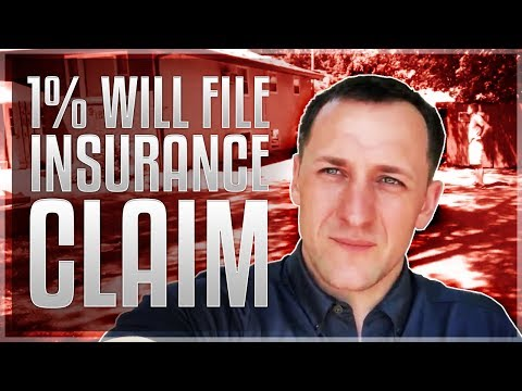 Minnesota Roofing Company: One 1% Will File Insurance Claim!